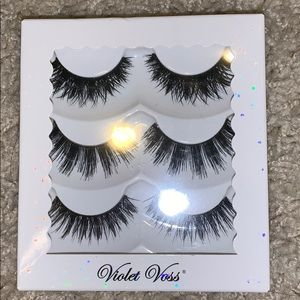 New Violet Voss triple stacked lashes 3 pairs